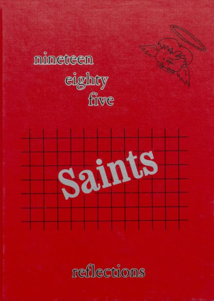 1985 St. Ansgar High School Yearbook Cover