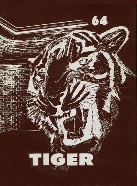 1964 Troup High School Yearbook Cover