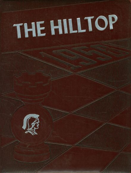 1958 Burnt Hills-Ballston Lake High School Yearbook Cover