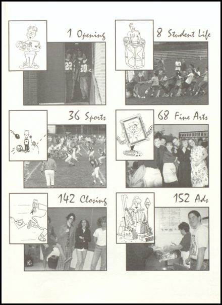 1997 Eureka High School Yearbook Page 3