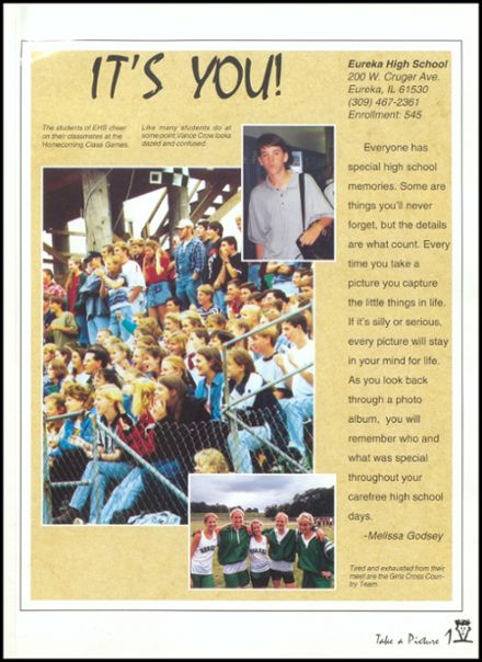 1997 Eureka High School Yearbook Page 5