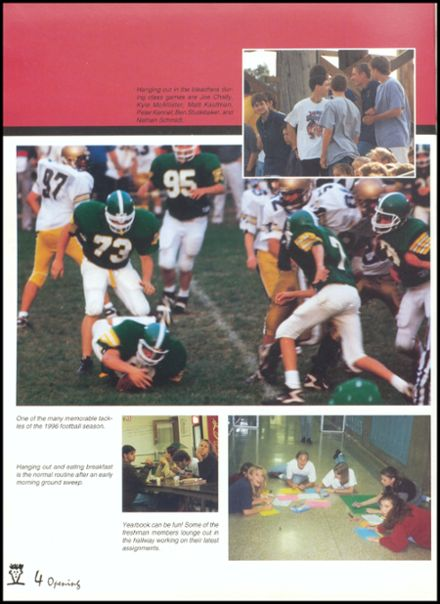 1997 Eureka High School Yearbook Page 8