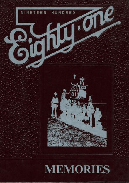 1981 St. Thomas High School Yearbook Cover