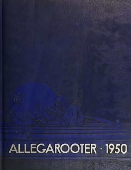 1950 Rahway High School Yearbook Cover