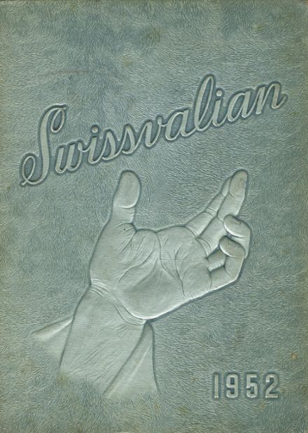 1952 Swissvale High School Yearbook Cover