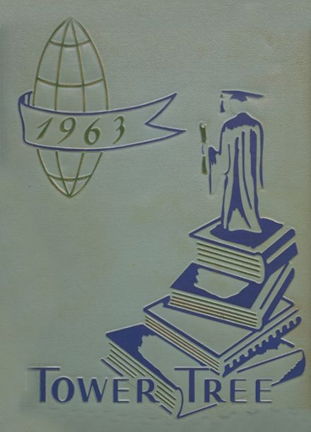 1963 Greensburg High School Yearbook Cover