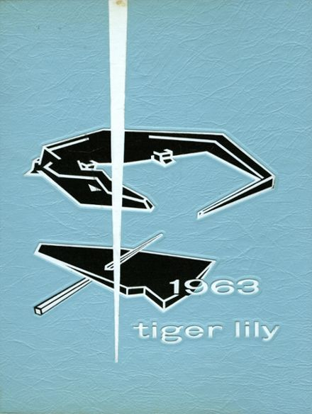 1963 Port Allegany High School Yearbook Cover