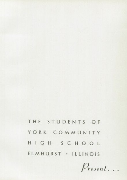 1948 York Community High School Yearbook Page 5