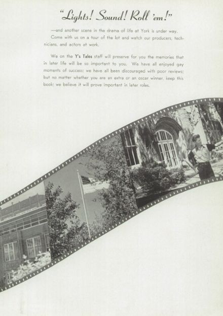 1948 York Community High School Yearbook Page 9