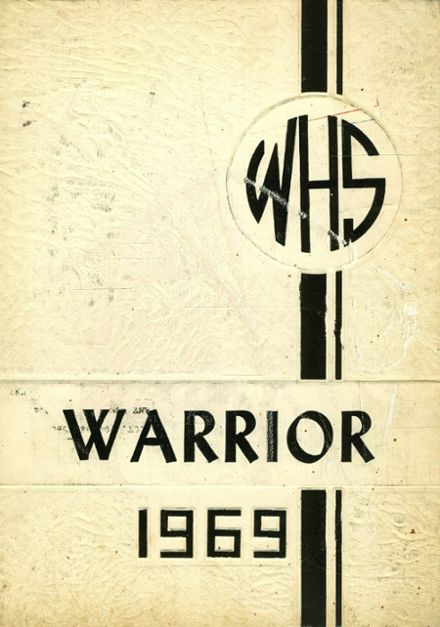 1969 Wintersville High School Yearbook Cover