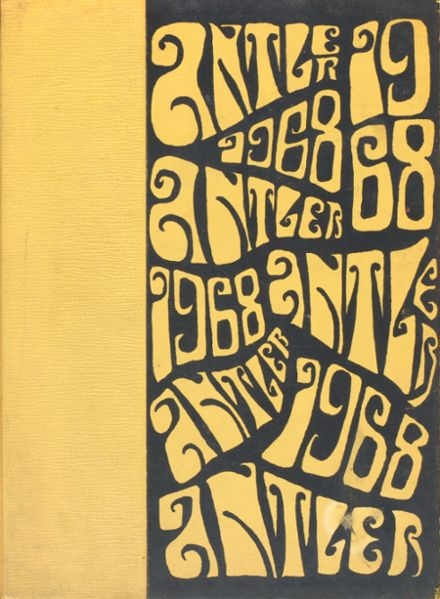 1968 Central Bucks High School Yearbook Cover