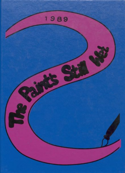 1989 Central Catholic High School Yearbook Cover