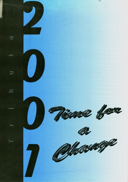 2001 University Christian School Yearbook Cover