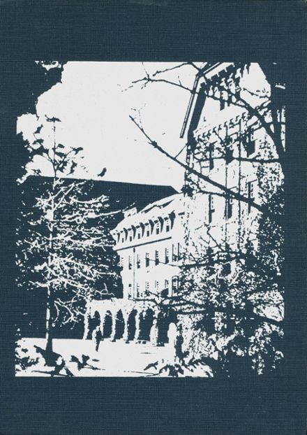 1972 The Hill School Yearbook Cover