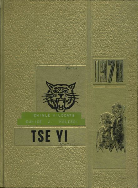 1970 Chinle High School Yearbook Cover