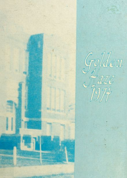 1974 Akron High School Yearbook Cover