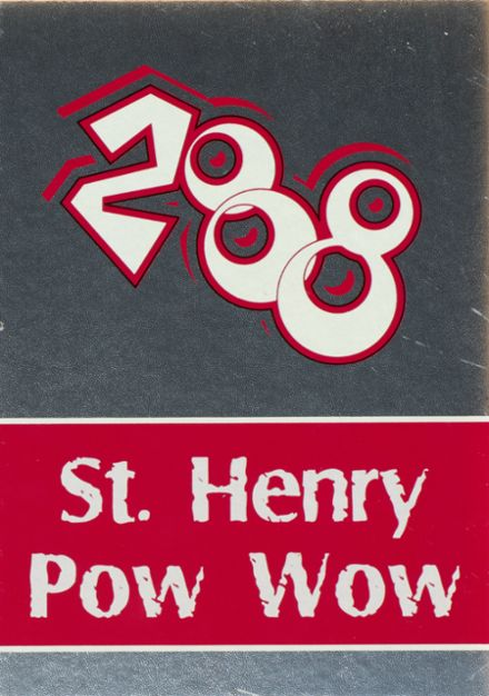 2008 St. Henry High School Yearbook Cover