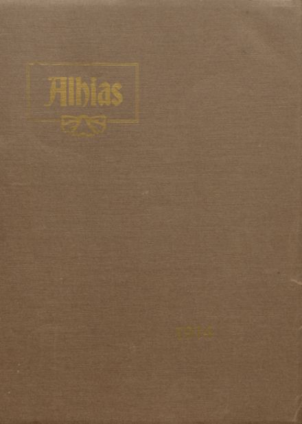 1914 Central High School Yearbook Cover