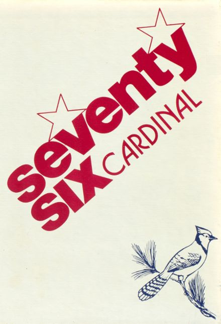 1976 Wolsey High School Yearbook Cover