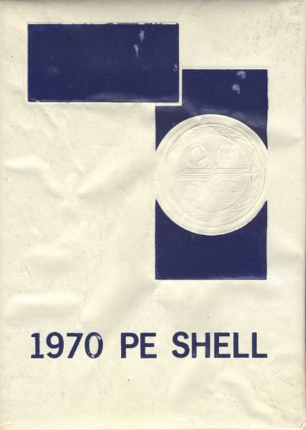 1970 Pe Ell High School Yearbook Cover