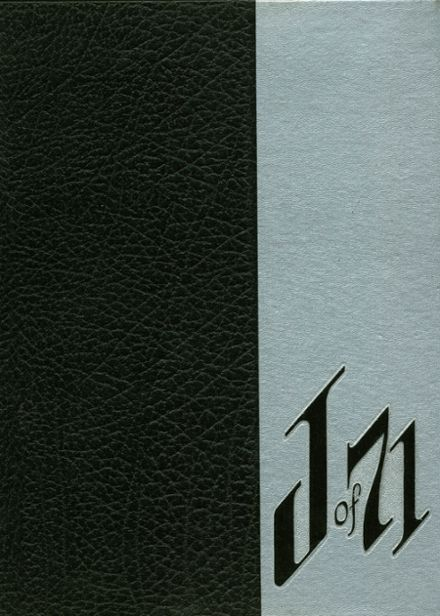 1971 Joliet Central High School Yearbook Cover