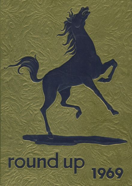 1969 Meadow High School Yearbook Cover