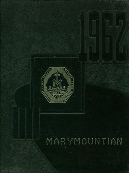 1962 Marymount High School Yearbook Cover