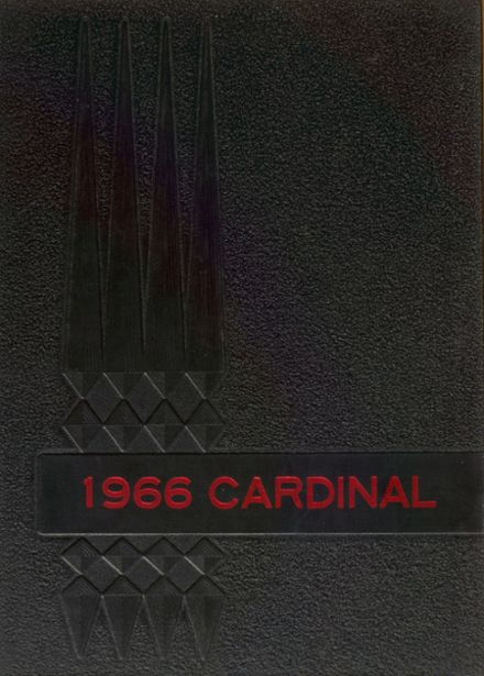 1966 Clarence High School Yearbook Cover