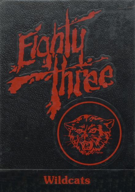 1983 Boise City High School Yearbook Cover