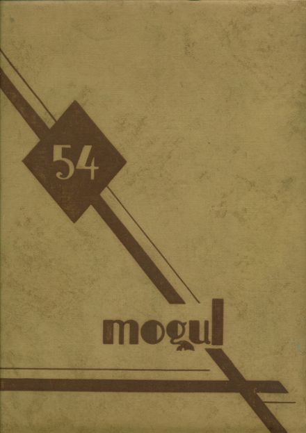 1954 Fremont High School Yearbook Cover