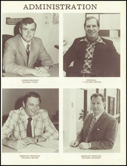 1977 Barnstable High School Yearbook Page 7