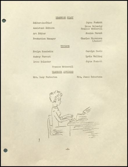 1956 Woodstock Academy Yearbook Page 7