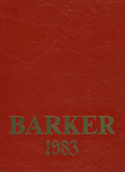 1983 Bradford High School Yearbook Cover