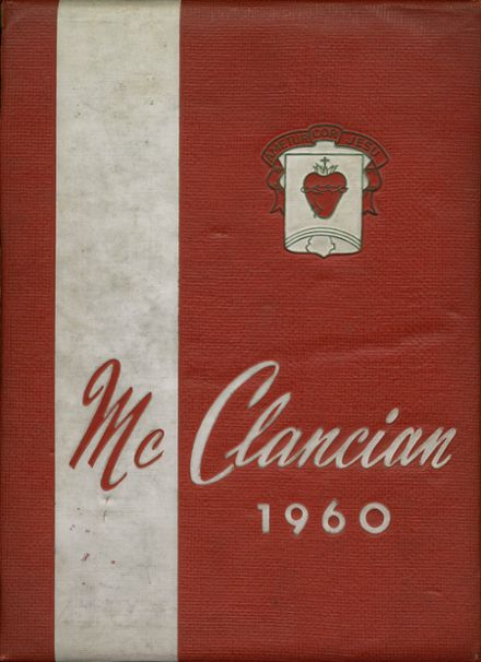 1960 Monsignor McClancy High School Yearbook Cover
