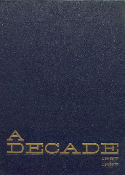 1967 John H. Francis Polytechnic High School Yearbook Cover