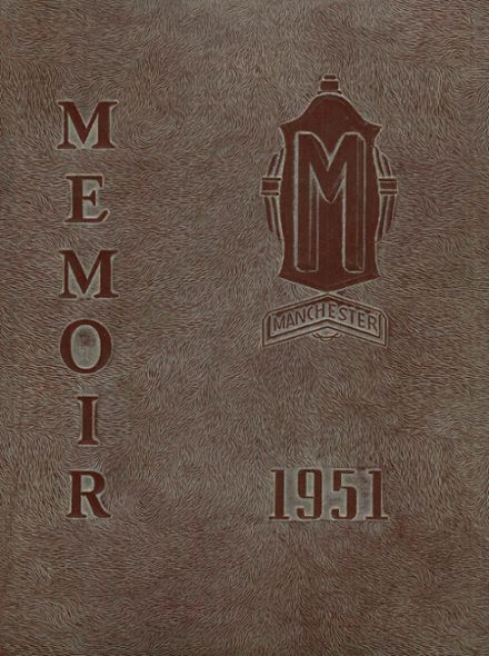 1951 Manchester High School Yearbook Cover