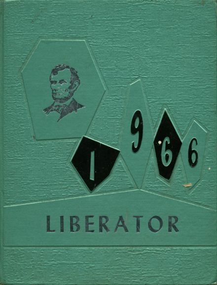 1966 Lincoln High School Yearbook Cover