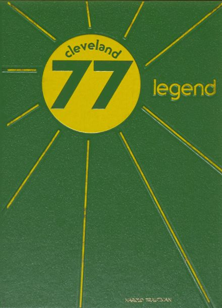 1977 Cleveland High School Yearbook Cover
