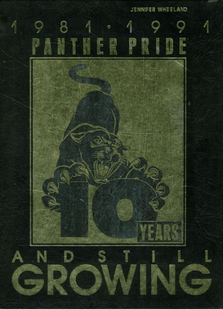 1991 Plano East Senior High School Yearbook Cover