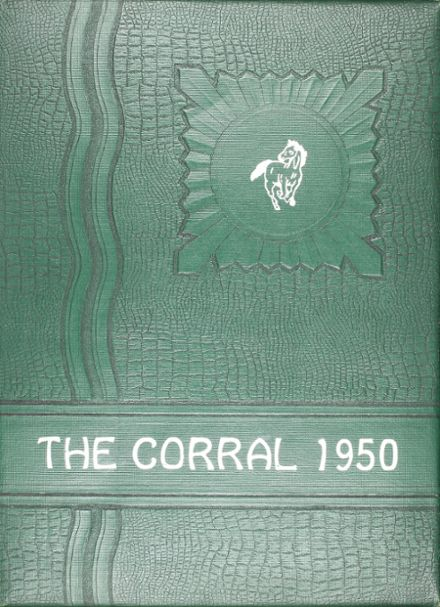 1950 Shallowater High School Yearbook Cover