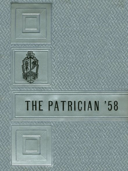 1958 St. Patrick's High School Yearbook Cover