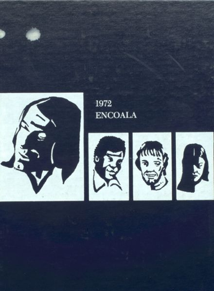 1972 Enterprise High School Yearbook Cover