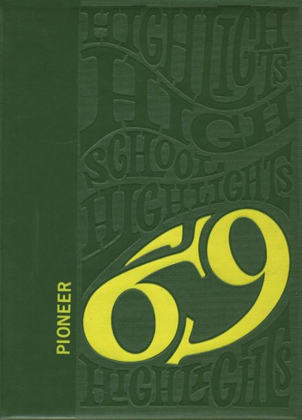 1969 Wyoming Community High School Yearbook Cover