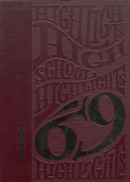 1969 Ripley High School Yearbook Cover