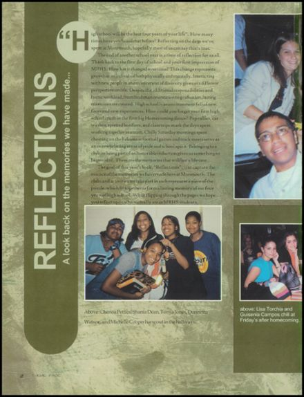 2002 Monmouth Regional High School Yearbook Page 6
