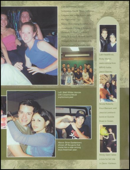 2002 Monmouth Regional High School Yearbook Page 7
