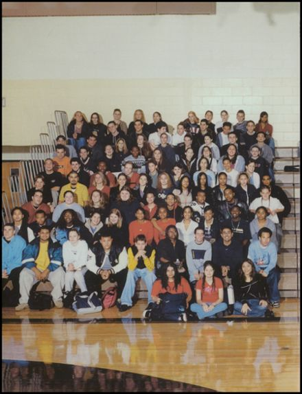 2002 Monmouth Regional High School Yearbook Page 8