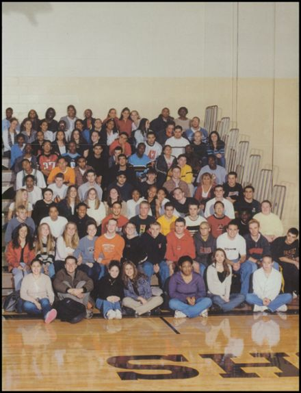 2002 Monmouth Regional High School Yearbook Page 9