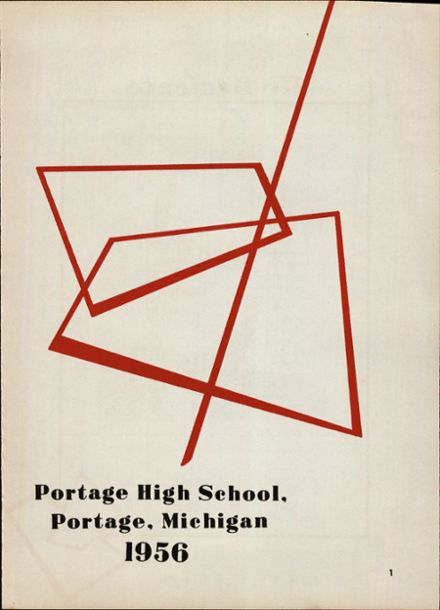1956 Portage Central High School Yearbook Page 5