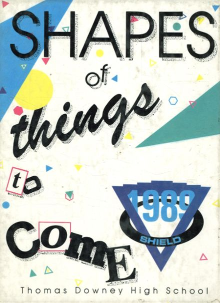 1990 Arcadia High School Yearbook Cover
